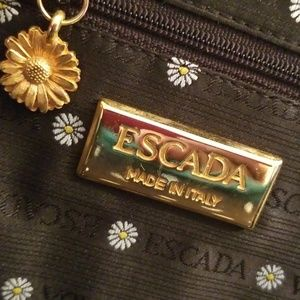 💚RARE ESCADA QUILTED BAG💚